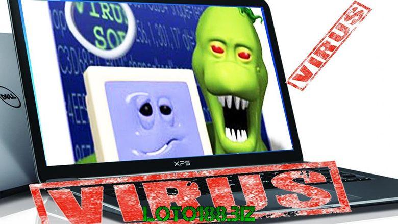 Máy tính nhiễm virus